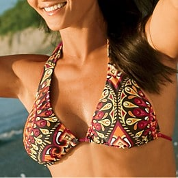 Swim: Peacock Extended Triangle Top: All Swimwear | Athleta :  beach swimsuit triangle top swimming