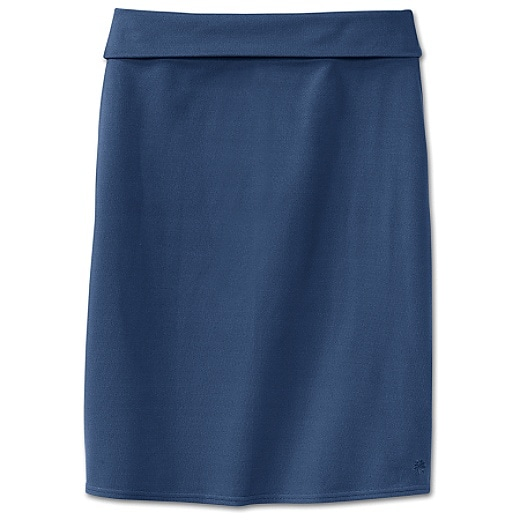 Athleta - Pencil Skirt :  workk attire skirt blue skirt athleta