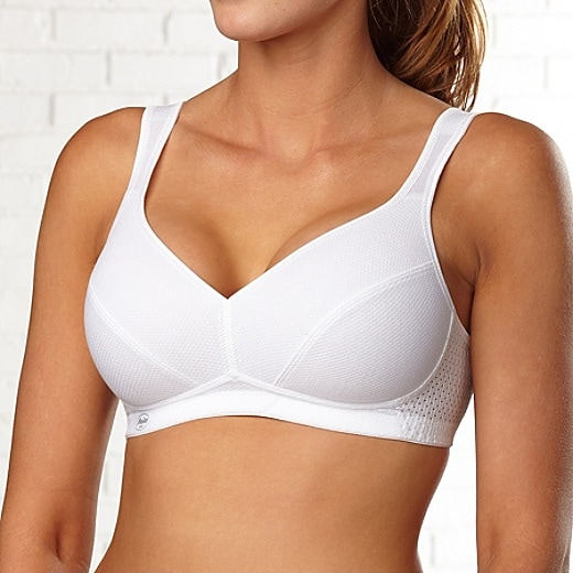 Relaxx 38C Sports Bra, Women's 38C Sports Bra by Anita - White