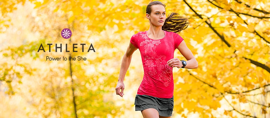 athleta - power to the she