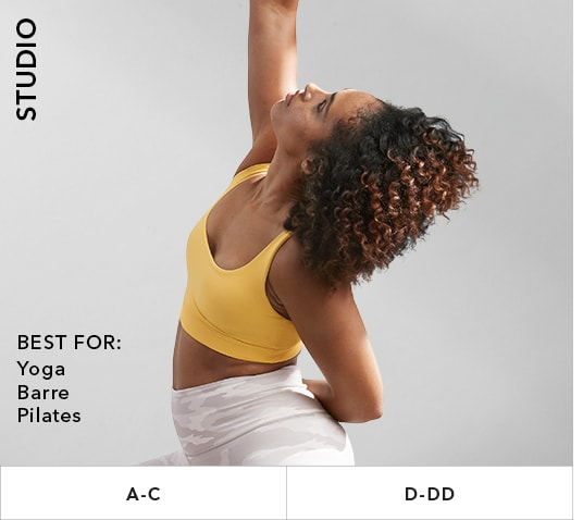 Studio Bras: Best for yoga, barre, pilates