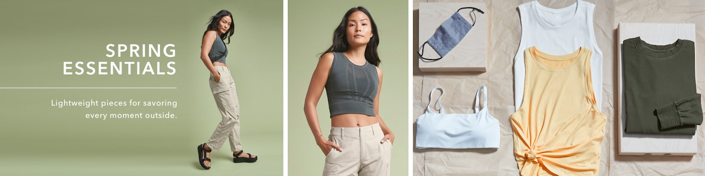 Spring Essentials: Lightweight pieces for savoring every moment outside.
