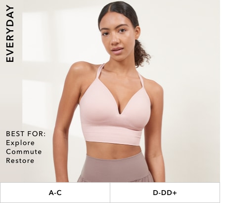Everyday Bras: Best for explore, commute, restore