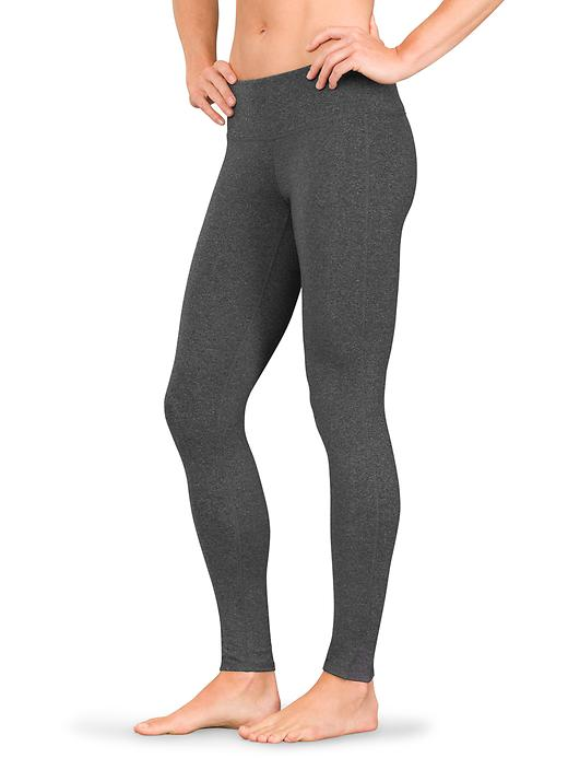 Athleta Chaturanga Tights Black Heather