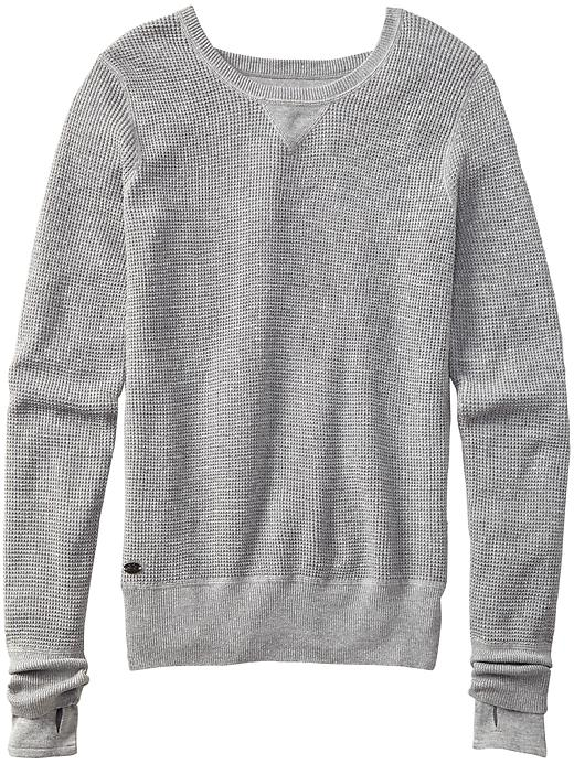 Athleta Olympus Sweater - Grey heather