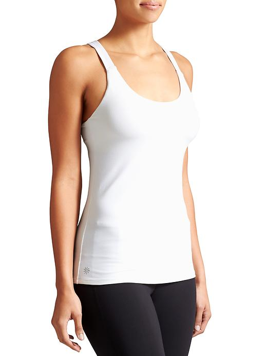 Athleta Womens Optimism Tank Size XL - Bright white