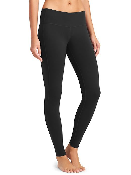 Athleta Womens Chaturanga Tight Size XL - Black