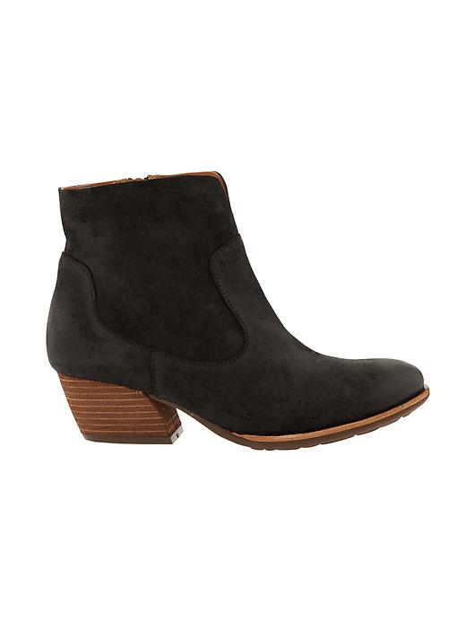 Athleta Womens Sherrill Boot By Kork Ease Black Oiled Suede Size 10