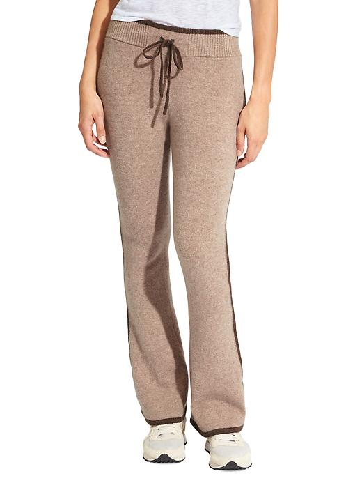 Athleta Cashmere Relax Sweatpant - Foxtail taupe heather
