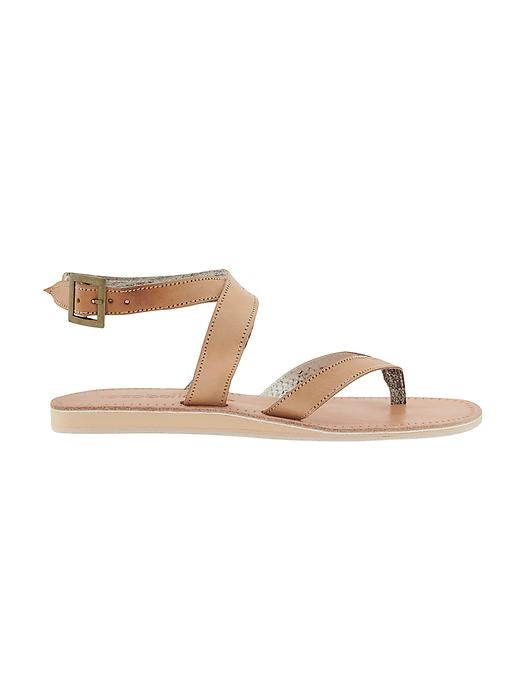 Etounes Gt Eric Michael Tampa Natural Womens Sandals