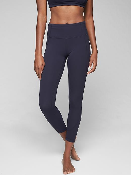 Athleta Salutation 7/8 Tights Navy