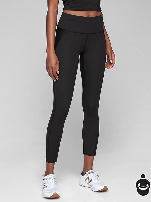 Athleta Stealth 7/8 Tights Black