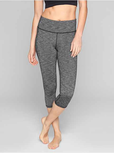 High Rise Chaturanga™ Capri