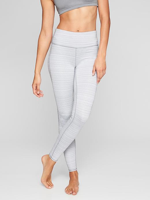 High Rise Jacquard Chaturanga Tight