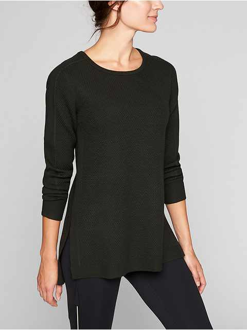 Thermal Honeycomb Sweater