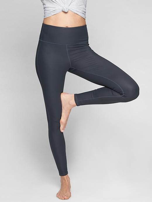 Athleta High Rise Shine Chaturanga Tights Total Eclipse
