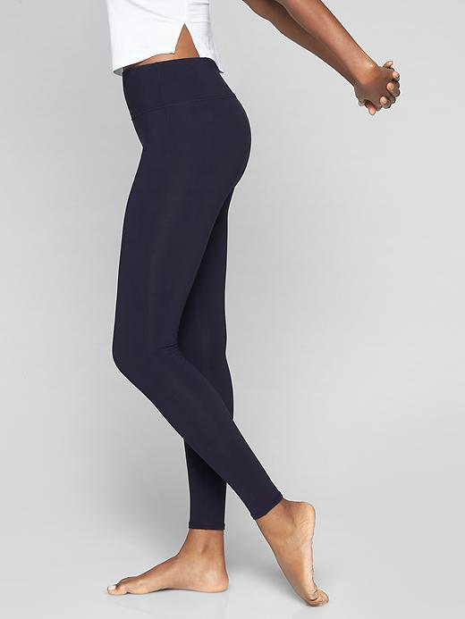 "Athleta Womens High Rise Chaturangaâ""¢ Tight Navy Size L"