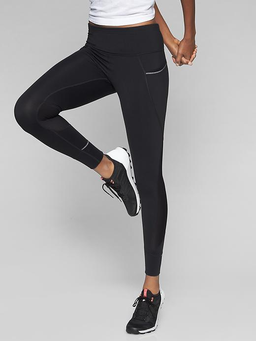 Athleta Relay Tights 2.0 Black