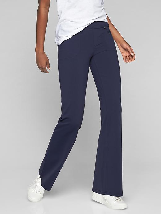 Athleta Womens Bettona Classic Pant Navy Size XXS