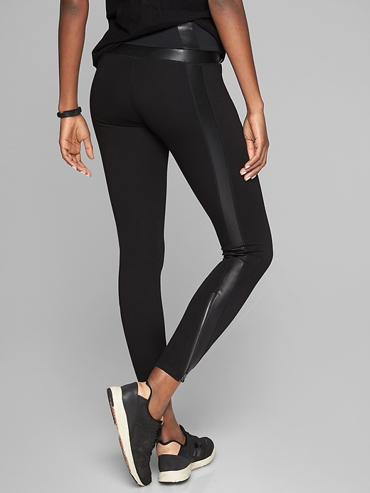 Athleta Luxe Ponte Legging Black