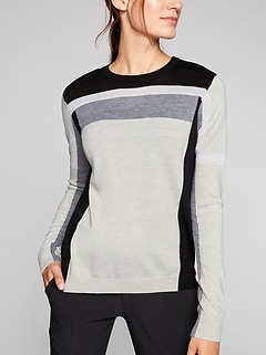 Merino Strobe Sweater
