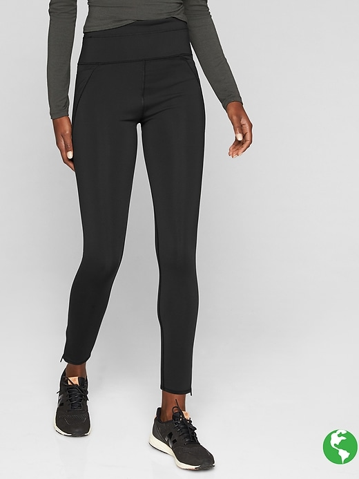 Athleta Stealth Tech 7/8 Tights Black