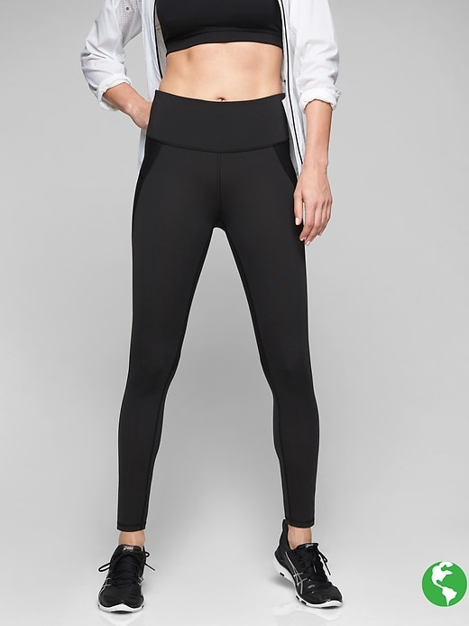 Athleta Stealth Tights Black