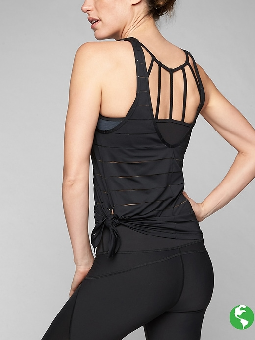 Athleta Max Out Chi 2 In 1 Tank Black