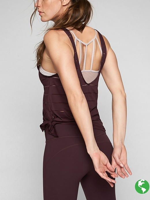 Athleta Max Out Chi 2 In 1 Tank Cassis
