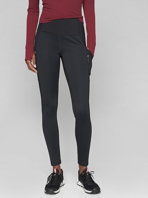Athleta High Traverse Tights Black