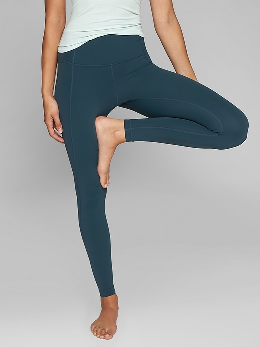 Athleta Salutation Tights Abyss