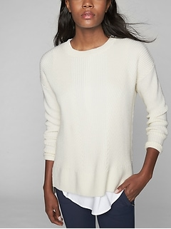 Merino Tunic Sweater