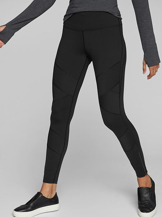 Athleta Sophia Street Tights Black