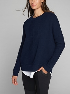 Wool Cashmere Habitat Sweater
