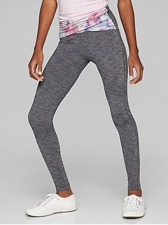 Athleta Girl Printed Twist Tight