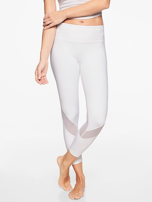 Athleta Eclipse 7/8 Tights White