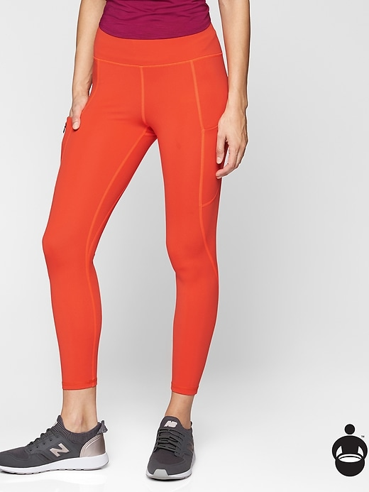 Athleta Up For Anything 7/8 Tights On Fire