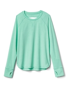 Athleta Girl Peekaboo Top