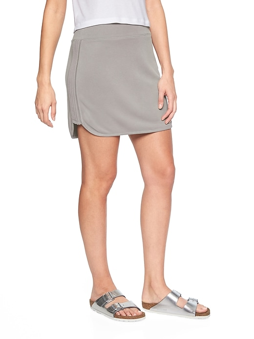 Athleta Womens Serenity Skirt Silver Grey Size S