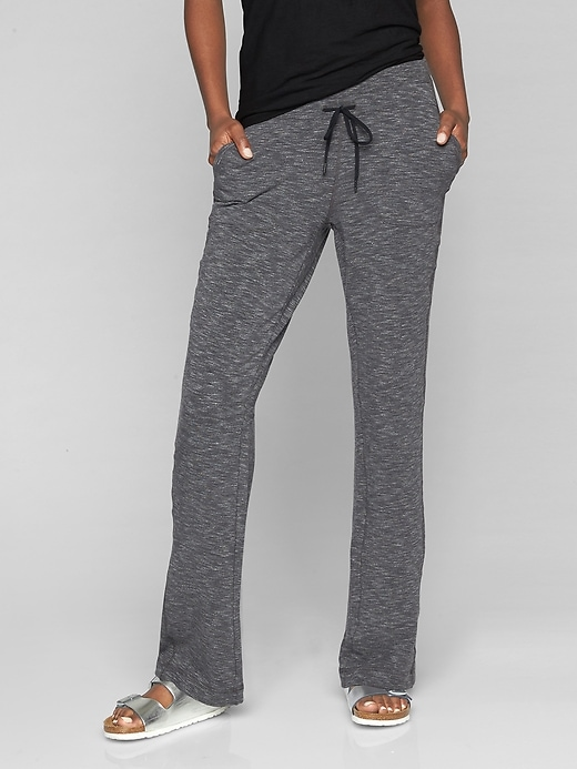 Athleta Womens Coaster Sweatpant Charcoal Grey Heather Size M
