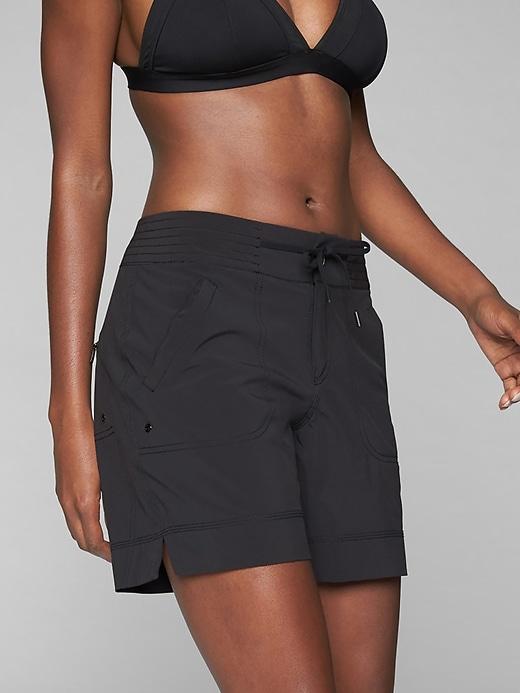 Athleta Womens Rincon Bermuda Black Size 14