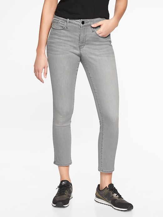 Sculptek Skinny Crop Jean Granite Wash by Athleta