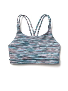 Athleta Girl Spacedye Upbeat Bra