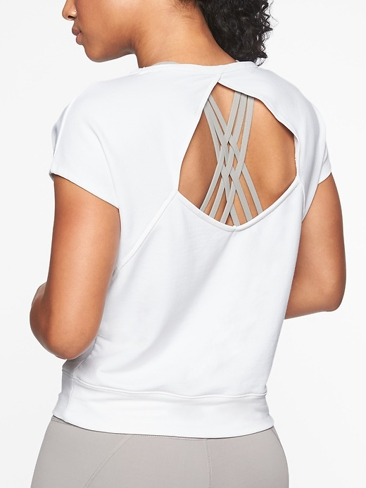 Open Back Tee by Athleta