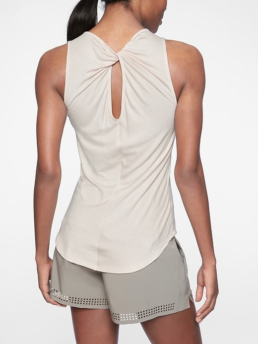 Cloudlight Twist Back Tank