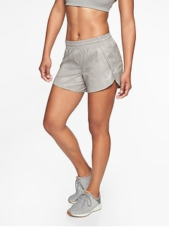 Camo Racer Run Short 4.5&#34