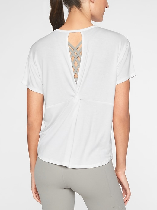 Cloudlight Open Back Tee by Athleta