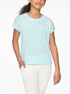 Athleta Girl Island Tee