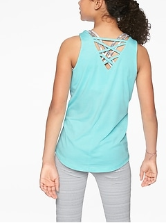 Athleta Girl Braided Back Tank