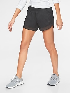 Mesh Racer Run Short 4&#34